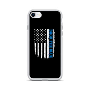 Back the Blue Flag iPhone Case