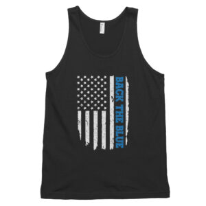 Back the Blue Flag Classic tank top (unisex)